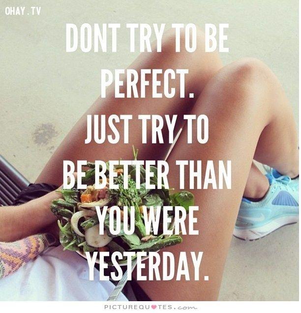 1. Hãy tập trung hoàn thiện bản thân.