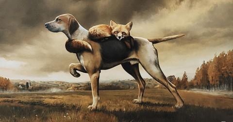 Chó và Hồ ly - Bạn nghĩ câu chuyện này nên lý giải theo hướng nào?