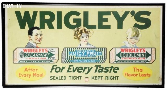 Sản phẩm đầu tiên được in mã vạch là một kiện hàng Kẹo cao su của hãng Wrigley.,sự thật thú vị,sự thật về chuối,những điều thú vị trong cuộc sống