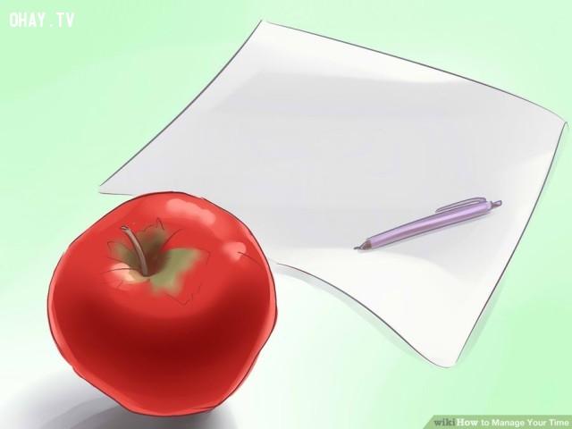 1. Lên danh sách những công việc cần hoàn thành.,thiếu thời gian,quản lý thời gian
