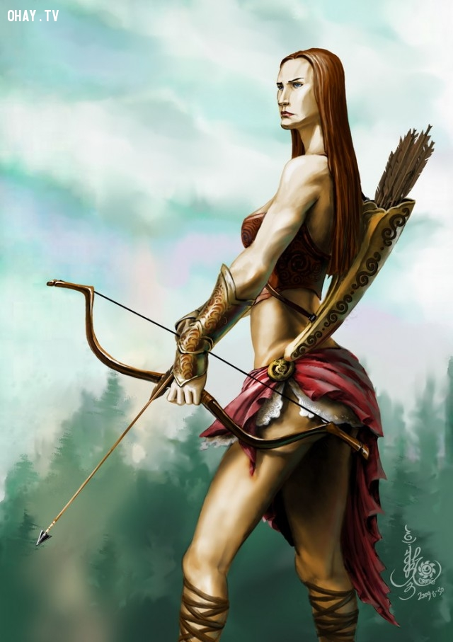 Những lầm tưởng về chiến binh Amazon,Chiến binh,amazon,chiến binh Amazon,Thần thoại Hy Lạp,La Mã