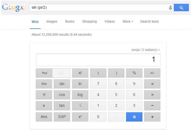 6. Sử dụng Google tìm kiếm như một chiếc máy tính giúp bạn tính toán,Google Seach