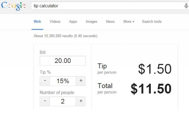 9. Tính % tiền tip,Google Seach