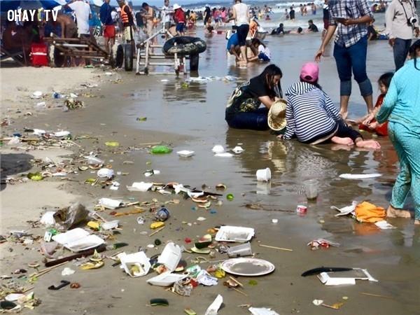 Vứt rác bừa bãi,du lịch,người Việt,Việt Nam,thói quen xấu,hành động xấu
