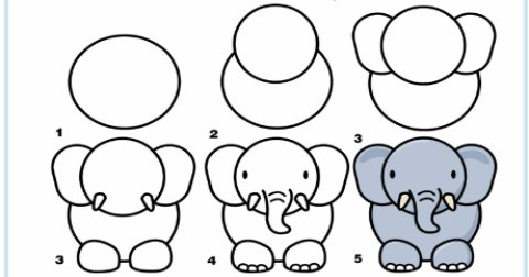 50+ cách vẽ động vật đơn giản
