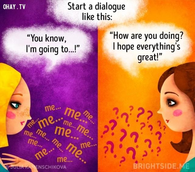 3. Bắt đầu một cuộc đối thoại...,người tích cực,người tiêu cực,sự khác biệt,suy nghĩ tích cực,suy nghĩ tiêu cực,tư duy tích cực