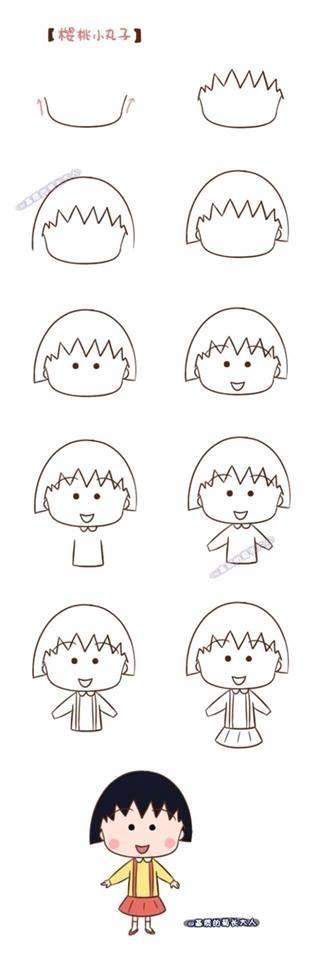 ,mẹo vặt,mẹo hay,hướng dẫn cách vẽ đơn giản,học vẽ,vẽ tranh,vẽ nhân vật hoạt hình,hướng dẫn vẽ