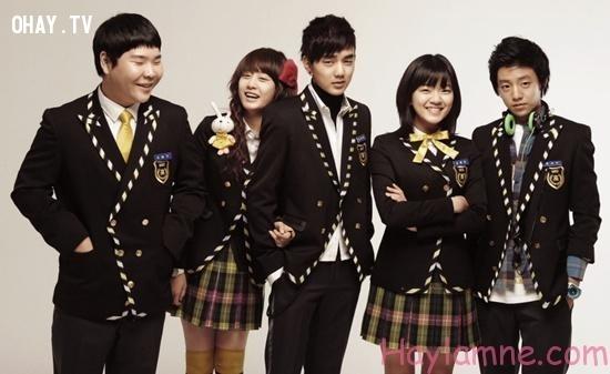 Dù học dốt, quậy phá trường lớp nhưng vẫn lên lớp đều đặn.,phim Hàn,nghịch lý,giả nam,diễn viên