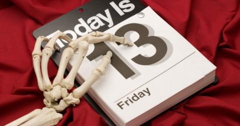 12 lý do để thứ 6 ngày 13 trở nên đáng sợ .