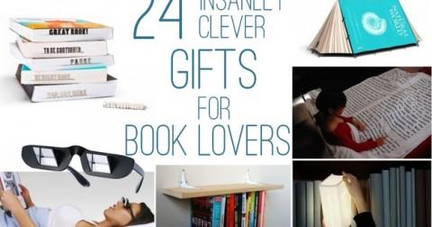 24 món quà thú vị và đáng yêu dành cho các 'mọt sách'