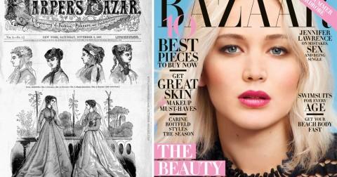Bìa của 13 tạp chí nổi tiếng ngày ấy và bây giờ