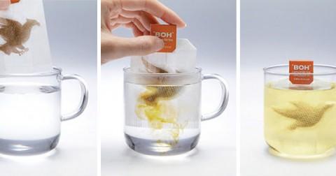 15 túi trà có kiểu dáng độc đáo và sáng tạo