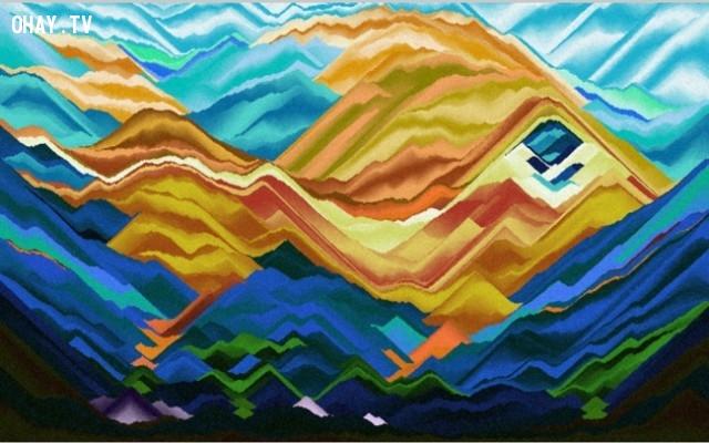 11. Vẽ với cát,trang web thú vị,có thể bạn chưa biết,thư giãn