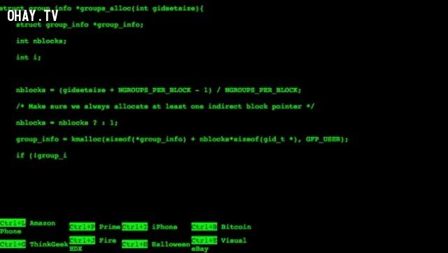 9. Thử cảm giác làm hacker,trang web thú vị,có thể bạn chưa biết,thư giãn