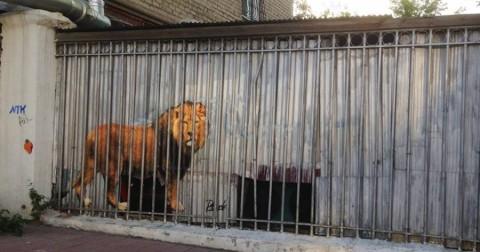 15 kiệt tác nghệ thuật đường phố đáng kinh ngạc