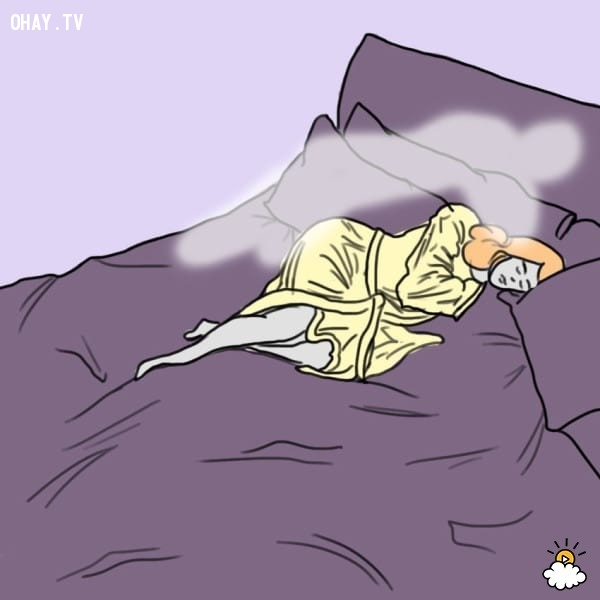 2. Bạn hay gặp những cơn ác mộng và thường có cảm giác có ai khác đang nằm ngủ cùng mình.,khả năng ngoại cảm,tâm linh,hiện tượng kỳ lạ