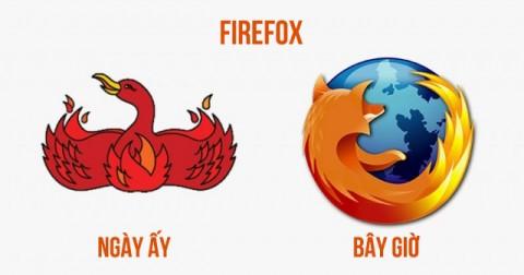 50 logo của các thương hiệu nổi tiếng ngày ấy và bây giờ