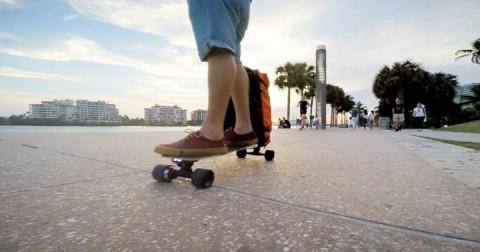 Movpak - Sản phẩm độc đáo kết hợp giữa skateboard và túi xách