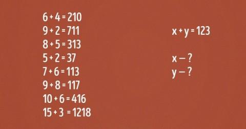 Trắc nghiệm IQ: Nếu có thể giải bài toán này, trí thông minh của bạn ngang thiên tài