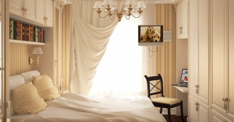 9 ý tưởng thông minh cho phòng ngủ nhỏ