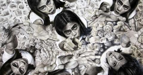 Veri Apriyatno - người họa sĩ tạo ảo ảnh thị giác qua chân dung tự họa