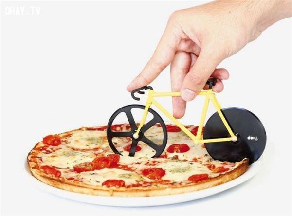 Dao cắt pizza vô cùng sáng tạo,vật phẩm