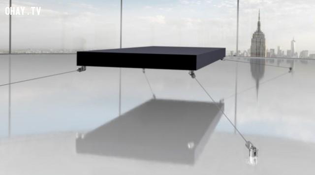 Giường ngủ bay Magnetic - 1,6 triệu $,những thứ siêu đắt,siêu du thuyền,khám phá