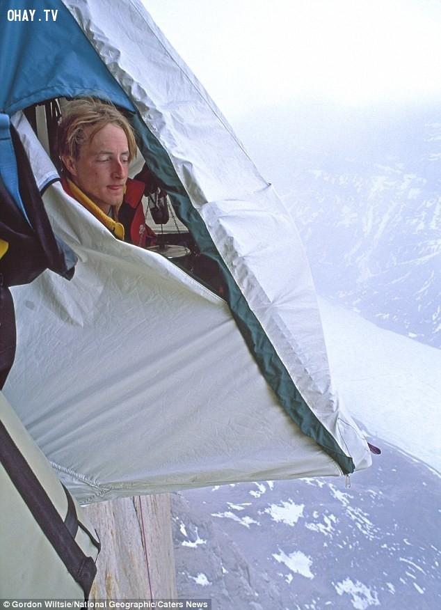 Những người leo núi ngủ thế này đấy!,hình ảnh hài hước,hài hước,ảnh kì lạ