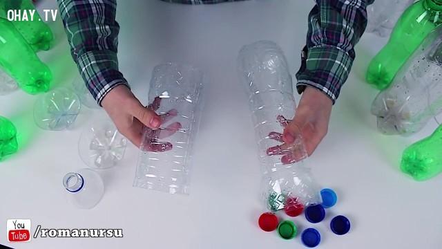,tái sử dụng chai nhựa,sản phẩm độc đáo,sản phẩm từ chai nhựa,mẹo vặt