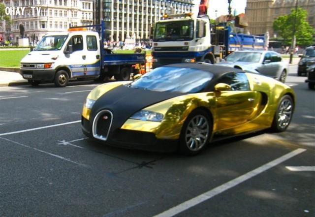 Gold-Plated Bugatti Veyron - 10.000.000 $.,những thứ siêu đắt,siêu du thuyền,khám phá