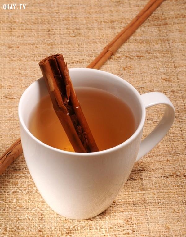 8.Trà quế,giảm cân,giảm cân an toàn,thảo mộc giảm cân,sức khỏe và sắc đẹp,bài thuốc giảm cân,uống trà giảm cân