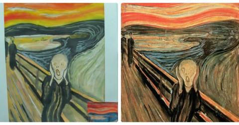 Khi trẻ em cover lại những bức danh họa nổi tiếng thế giới