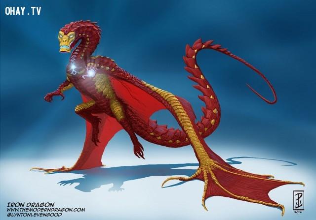 06. Iron-rồng,nhân vật truyện tranh,rồng,tranh vẽ,nghệ thuật