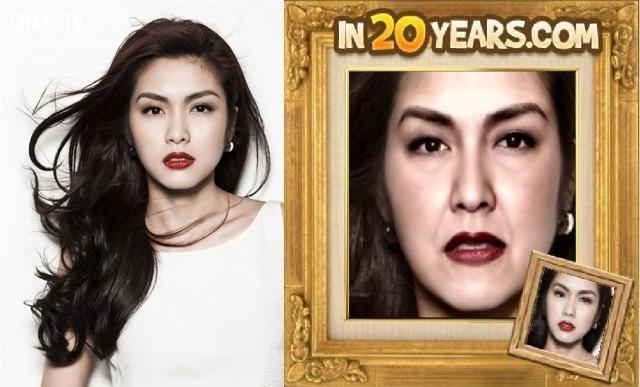 Tăng Thanh Hà,dự đoán,hình ảnh,20 năm,tương lai