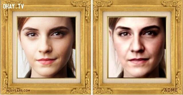 Emma Watson,dự đoán,hình ảnh,20 năm,tương lai