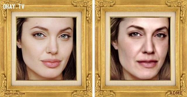 Angelia Jolie,dự đoán,hình ảnh,20 năm,tương lai