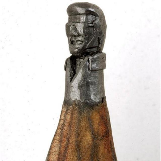 Nụ cười của Elvis,bút chì,tác phẩm nghệ thuật,sáng tạo,kiệt tác nghệ thuật,khắc bút chì