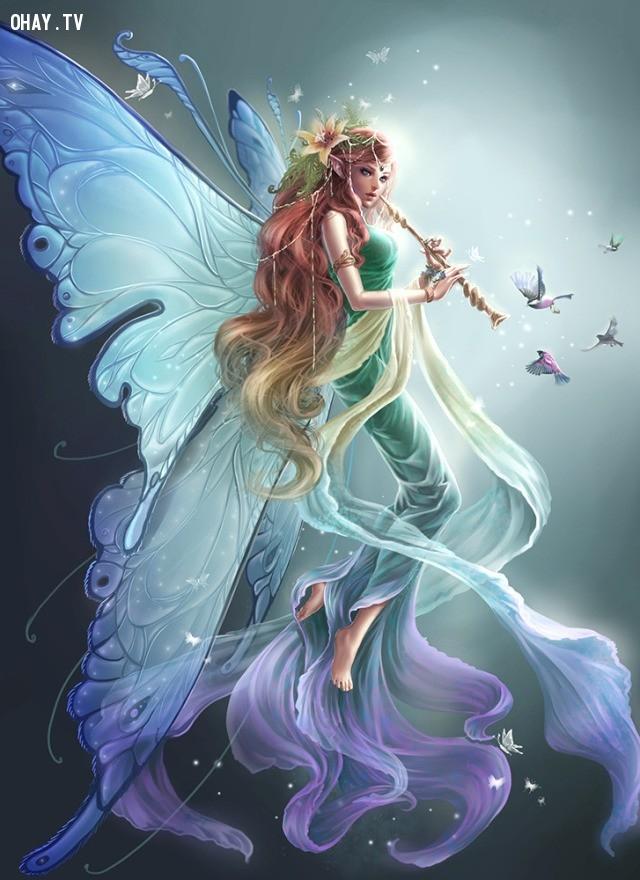 6. Xử Nữ (23/8 - 22/9): Tiên nữ,cung hoàng đạo,sinh vật thần thoại,truyền thuyết,trắc nghiệm vui