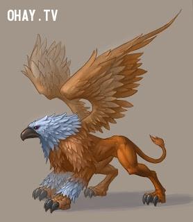 5. Sư Tử (23/7 - 22/8): Griffin,cung hoàng đạo,sinh vật thần thoại,truyền thuyết,trắc nghiệm vui