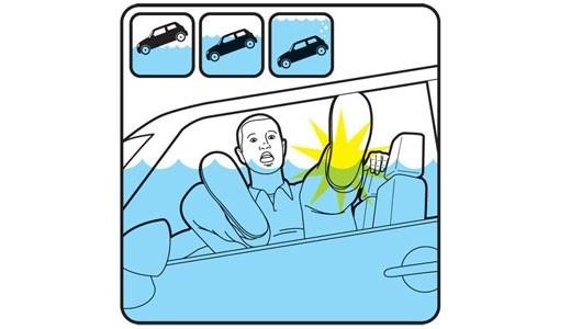 2. Đập vỡ cửa kính,kỹ năng sinh tồn