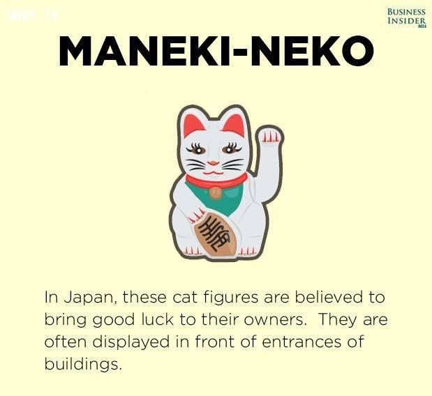 1. Maneki Neko,lá bùa,bùa may mắn,khám phá,Dreamcatcher