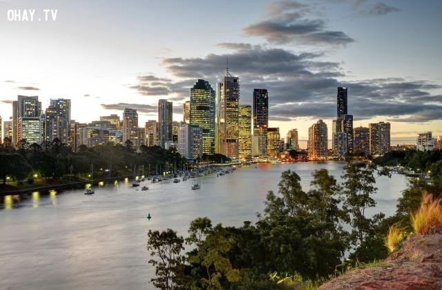 Brisbane, Australia,du lịch,khám phá,sống
