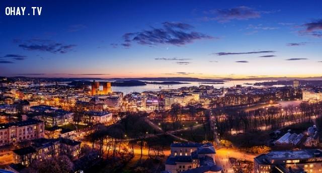 Oslo,du lịch,khám phá,sống