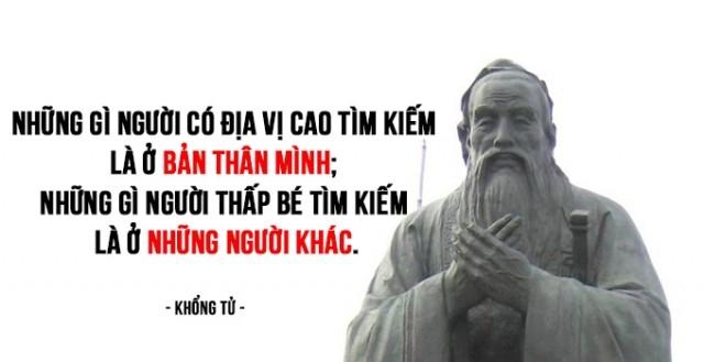 6. Những gì người có địa vị cao tìm kiếm là ở bản thân mình; những gì người thấp bé tìm kiếm là ở những người khác.,bài học cuộc sống,Khổng Tử,triết học khổng tử,tư tưởng khổng tử,suy ngẫm,lời dạy của đức khổng tử