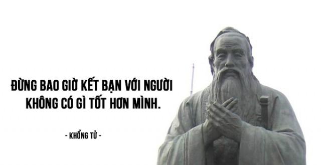 2. Đừng bao giờ kết bạn với người không có gì tốt hơn mình.,bài học cuộc sống,Khổng Tử,triết học khổng tử,tư tưởng khổng tử,suy ngẫm,lời dạy của đức khổng tử
