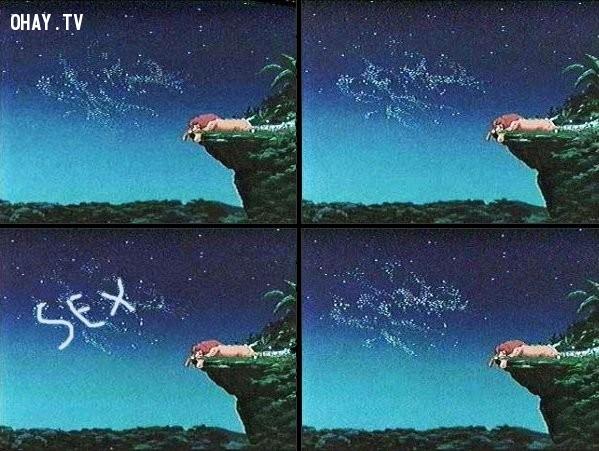 7. Hãy nhìn lên bầu trời trong phim Vua sư tử...,đầu độc tâm hồn,ảnh hài,phim hoạt hình,chi tiết nhạy cảm