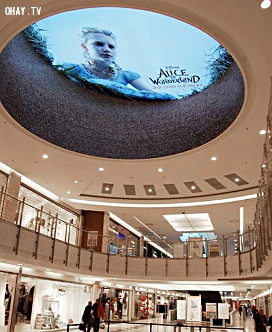 Poster quảng bá Alice in Wonderland cũng vô cùng ảo diệu. ,ý tưởng quảng bá phim,những điều thú vị trong cuộc sống