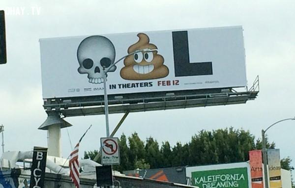 Còn poster này quảng cáo cho phim gì? Đố bạn biết đấy!,ý tưởng quảng bá phim,những điều thú vị trong cuộc sống