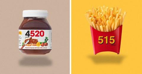 Sẽ thế nào khi logo thực phẩm thể hiện lượng calo?