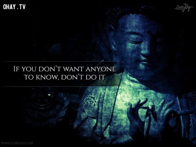 3. Nếu không muốn ai biết thì đừng làm.,ngạn ngữ Trung Quốc,suy ngẫm,bài học cuộc sống,ngạn ngữ hay,câu nói hay,danh ngôn